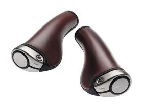 BROOKS SADDLES ERGON GP1 LEATHER GRIPS
