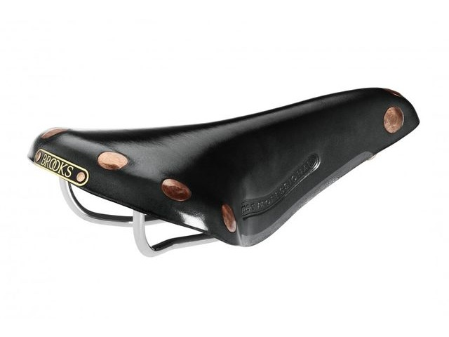 BROOKS SADDLES Team Professional chrome rails Brown click to zoom image