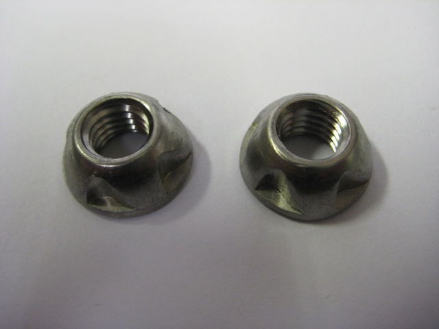 MISCELLANEOUS Security nuts M8 pair only click to zoom image
