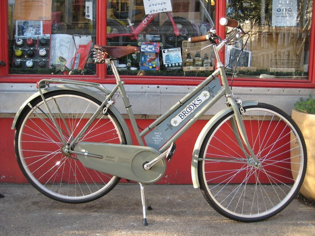 MISCELLANEOUS Brooks England ex-display bicycle click to zoom image