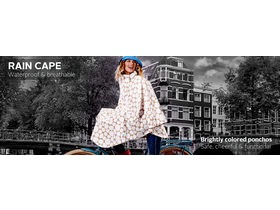 HAPPY RAINY DAYS Rain Cape