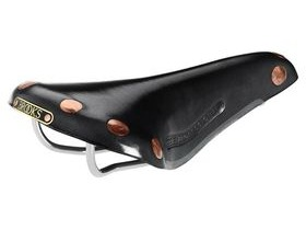 BROOKS SADDLES Team Professional chrome rail