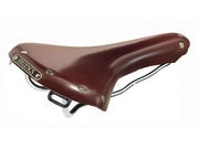 BROOKS SADDLES B15 Swallow Chrome  Brown click to zoom image
