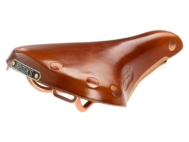 BROOKS SADDLES Team Professional 'S' copper rails click to zoom image