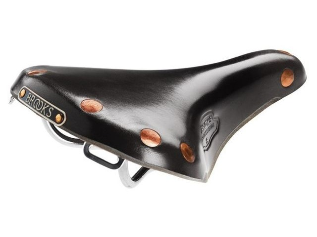 BROOKS SADDLES Team Professional 'S' chrome rails click to zoom image