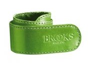 BROOKS SADDLES Trouser strap (unboxed)  Apple green  click to zoom image