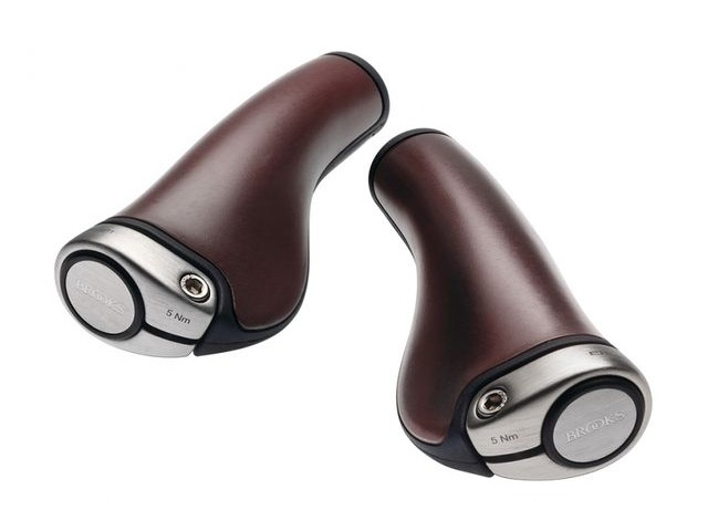 BROOKS SADDLES ERGON GP1 LEATHER GRIPS click to zoom image